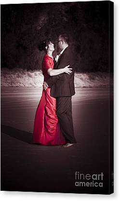 Bride And Groom Dancing Canvas Print by Jorgo Photography - Wall Art Gallery
