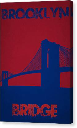 Brooklyn Bridge Canvas Print by Joe Hamilton