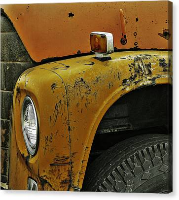Bus Stop Canvas Print by JC Photography and Art