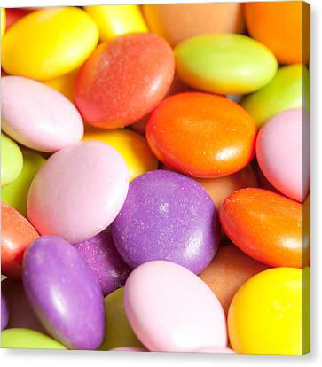 Candy Background Canvas Print by Tom Gowanlock