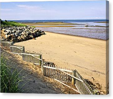 Cape Cod Bay Morning Canvas Print by Frank Winters