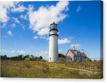 Cape Cod Lighthouse Canvas Print by Diane Diederich