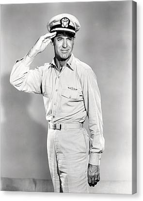 Cary Grant In Operation Petticoat  Canvas Print by Silver Screen