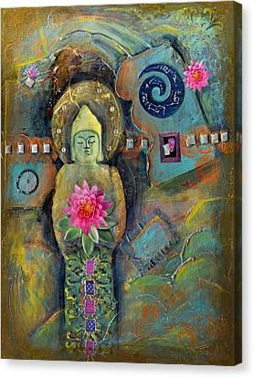 Catching Desert Dreams Canvas Print by Tara Catalano