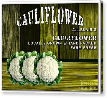 Cauliflower Farm Canvas Print by Marvin Blaine