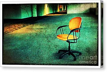 Chair2 Canvas Print by Perry Webster