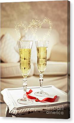 Champagne Canvas Print by Amanda And Christopher Elwell