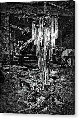 Chandelier Canvas Print by H James Hoff