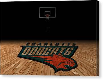 Charlotte Bobcats Canvas Print by Joe Hamilton