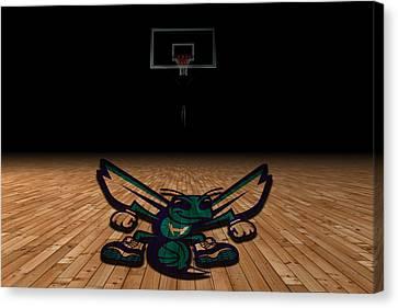 Charlotte Hornets Canvas Print by Joe Hamilton
