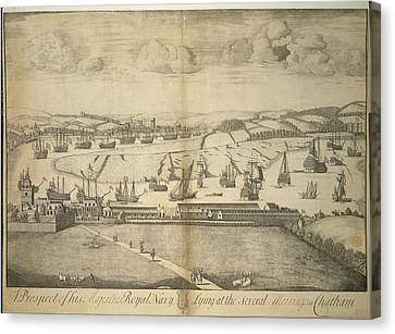 Chatham Canvas Print by British Library