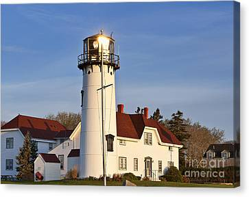 Chatham Lighthouse Canvas Print by John Greim