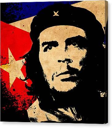 Che Guevara Canvas Print by Andrew Fare