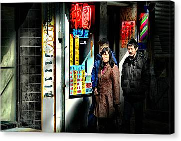 China Town Canvas Print by Diana Angstadt