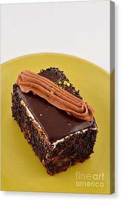Chocolate Cake Canvas Print by George Atsametakis