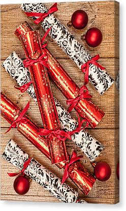 Christmas Crackers Canvas Print by Amanda Elwell