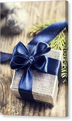 Christmas Present Canvas Print by Jelena Jovanovic