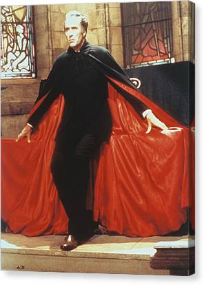 Christopher Lee In Dracula A.d. 1972  Canvas Print by Silver Screen