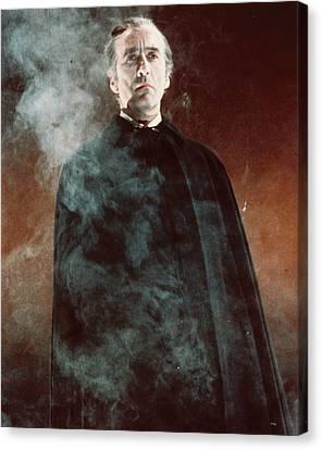 Christopher Lee In Dracula Has Risen From The Grave  Canvas Print by Silver Screen