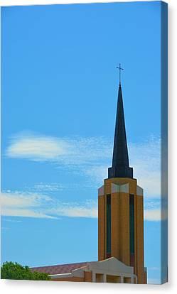 Church Steeple Canvas Print by Richard Jenkins