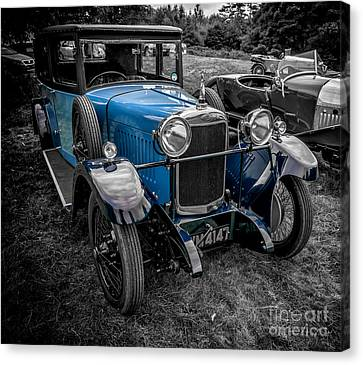 Classic Cars Canvas Print by Adrian Evans