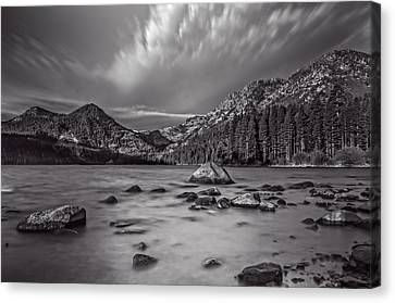 Cloud Movement Over Emerald Bay Canvas Print by Marc Crumpler