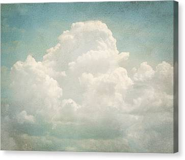 Cloud Series 3 Of 6 Canvas Print by Brett Pfister