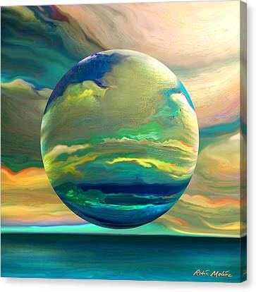 Clouding The Poets Eye Canvas Print by Robin Moline