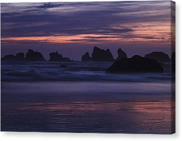 Coastal Reflections Canvas Print by Andrew Soundarajan