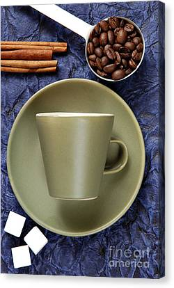 Coffee Canvas Print by HD Connelly