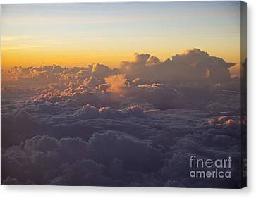 Colorful Clouds Canvas Print by Brian Jannsen