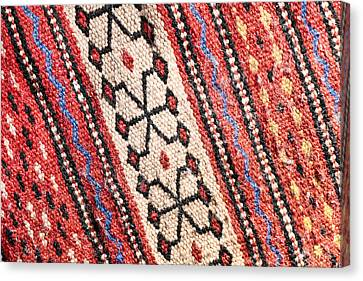 Colorful Rug Canvas Print by Tom Gowanlock