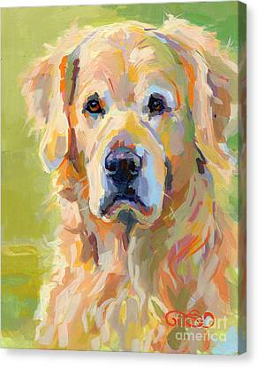 Cooper Canvas Print by Kimberly Santini