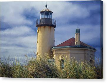 Coquille River Lighthouse II Canvas Print by Joan Carroll