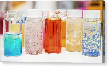 Cosmetics Manufacturer Canvas Print by Photostock-israel