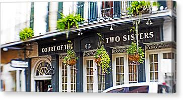 Court Of The Two Sisters Canvas Print by Scott Pellegrin