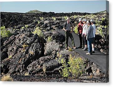 Craters Of The Moon Walking Tour Canvas Print by Jim West
