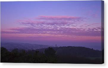 Cromer Sunrise  Canvas Print by David French