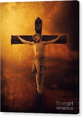 Crucifixcion Canvas Print by Jelena Jovanovic