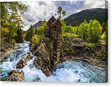 Crystal Mill Co Canvas Print by Peter Irwindale