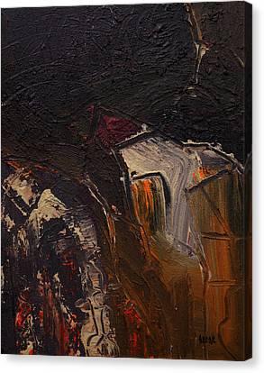 Cuenca Canvas Print by Oscar Penalber