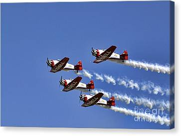 Dayton Air Show Canvas Print by Bill Bachmann