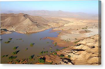 Desert Reservoir Canvas Print by Thierry Berrod, Mona Lisa Production
