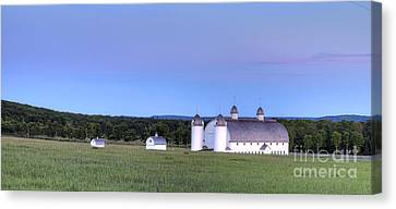 Dh Day Farm In Sleeping Bear Dunes Canvas Print by Twenty Two North Photography
