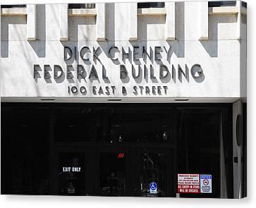 Dick Cheney Federal Bldg. Canvas Print by Oscar Williams