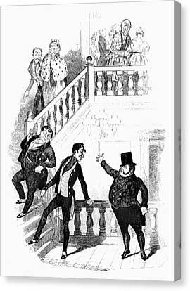 Dickens Pickwick Papers Canvas Print by Granger