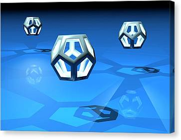 Dodecahedrons Canvas Print by Carol & Mike Werner