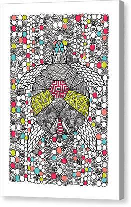 Dream Turtle Canvas Print by Susan Claire