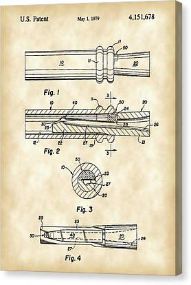 Duck Call Patent 1979 - Vintage Canvas Print by Stephen Younts