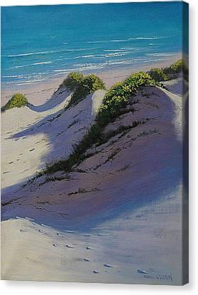 Dune Shadows Canvas Print by Graham Gercken